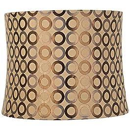 Copper Circles Drum Lamp Shade 13x14x11 (Spider) &...