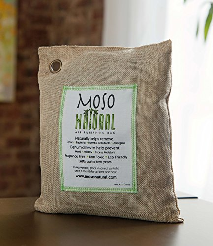 Moso Natural 200g and 500g Air Purifying Bag Deodorizers. Odor Eliminator for Cars, Closets, Bathrooms and Pet Areas. Absorbs and Eliminates Odors Natural Color by Moso Natural (Image #9)