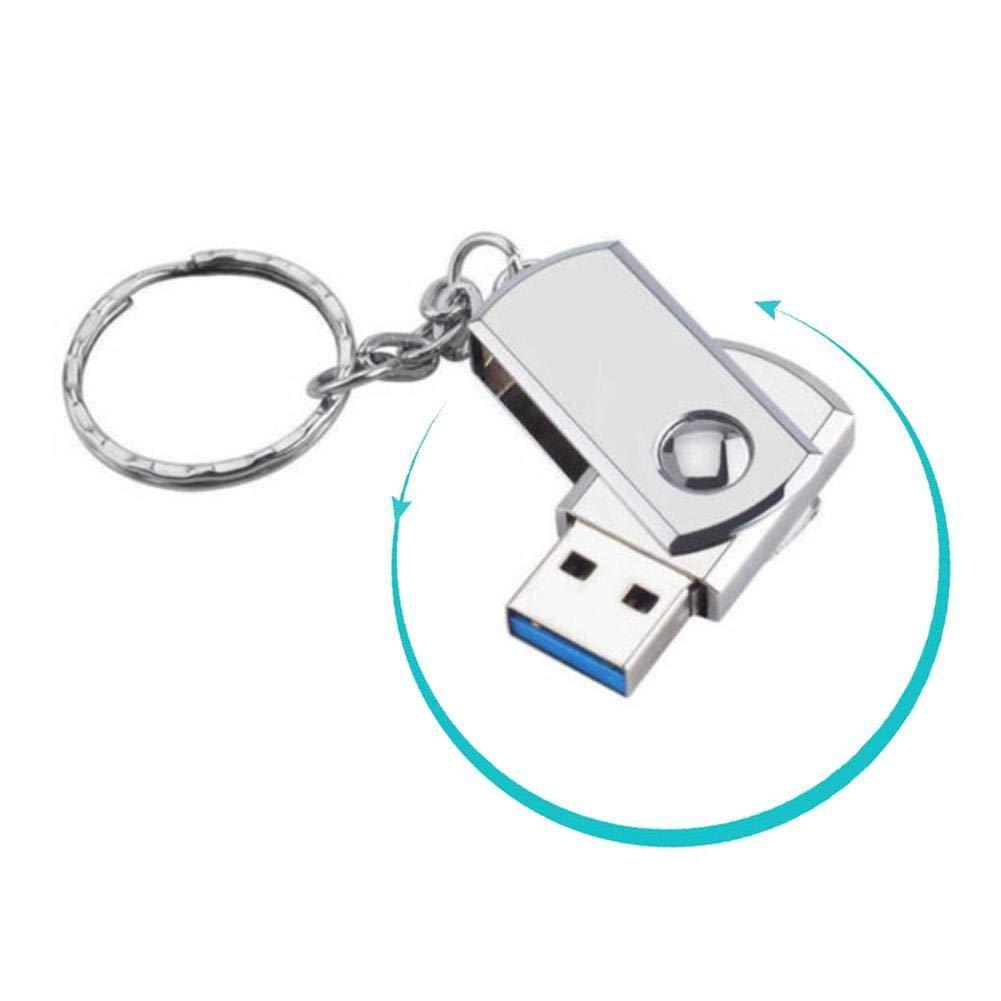 Amazon.com: Memoria USB 2.0 de 2 TB, de metal, con forma de ...