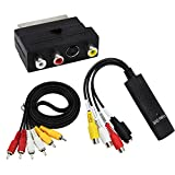 USB 2.0 VHS TAPE TO PC DVD CONVERTER AUDIO & VIDEO CAPTURE CARD/ADAPTER