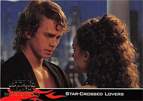 Anakin Skywalker Padme Trading Card Star Wars Revenge Of The Sith 2005 Topps 37 Natalie Portman Hayden Christensen At Amazon S Entertainment Collectibles Store