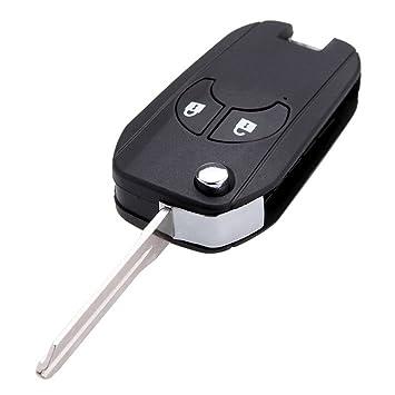 Carcasa de 2 botones para llave de coche Nissan, de la marca Katur