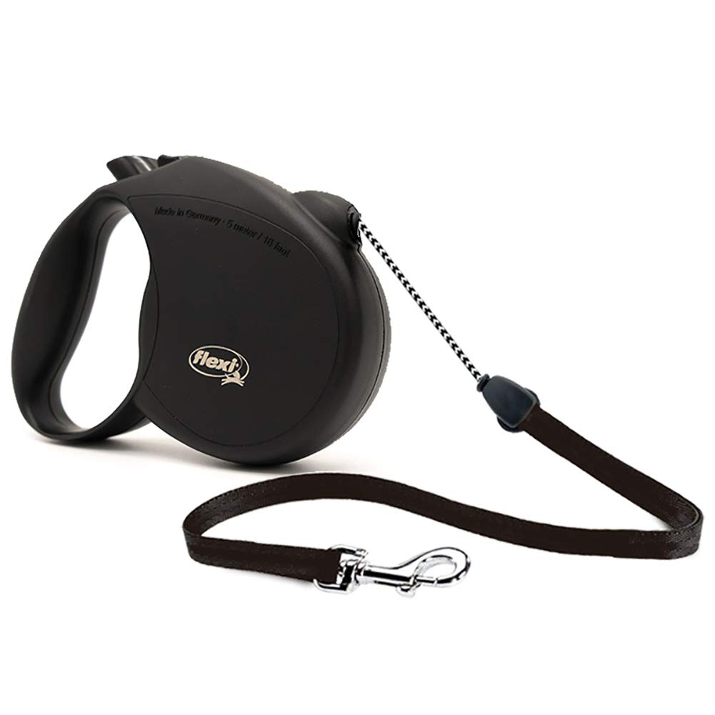 NOURSE CHOWSING Flexi Original Retractable Dog Leash, 16 ft Retractable Jointly-designed Dog Leash for Medium Dog and Made in Germany, Suitable for Dogs Up to 44 Lbs by Nourse