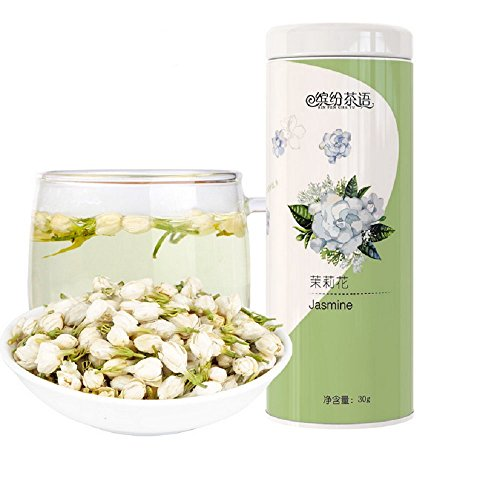 Chinese Organic Dried Flower Tea, Loose Leaf Herbal Tea (Jasmine Flower Tea)