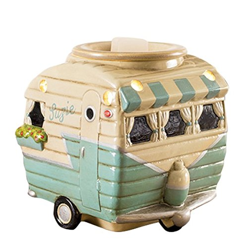 Retro Camper Scented Wax Cube Warmer made our list of Camping Gifts For Mom Fun And Unique Mother's Day Gift Idea Guide For Camping Moms