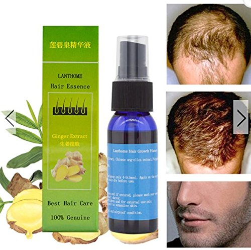Chinese Herbal Fast Hair Growth Essence Liquid Anti Hair Loss Treatment Pilatory Sprayer by shopIdea