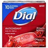 Best Glycerin Soaps - Dial Glycerin Bar Soap, Power Berries, 4 Ounce Review
