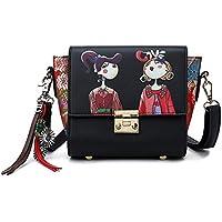 Vismiintrend Exclusive Girls Women Ladies Top Handle Satchel Sling Shoulder Handbag - Perfect Gift for Girl | Ladies | Women - Birthday Gift | Anniversary Gift