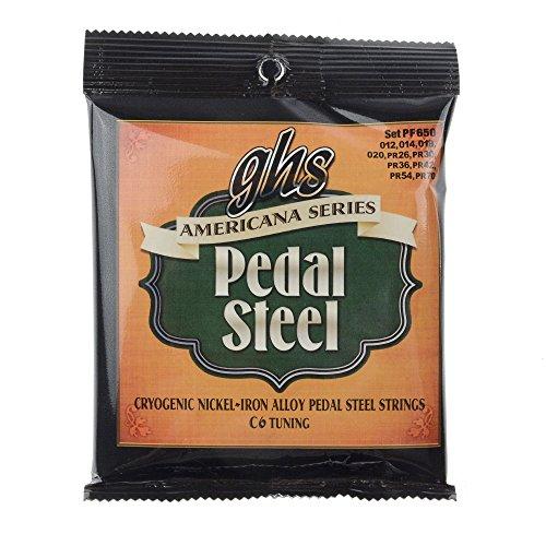 GHS Americana Series Pedal Steel C6 Tuning 12-70
