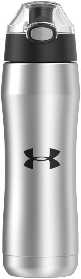 Under Armour Beyond 18 Ounce Stainless Steel Water Bottle, Stainless