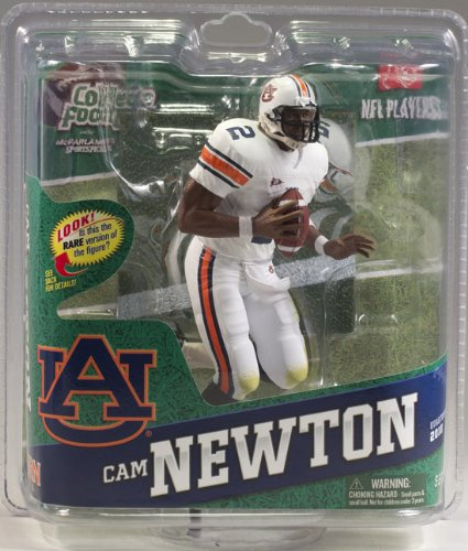 NCAA Series 4 Cam Newton All Star Level White Jersey Variant Figurine #'d /100 by McFarlane