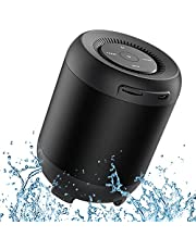 Speakers Bluetooth Wireless,Supports Wireless Bluetooth 360°Speaker with 5W Drivers for Louder Sound Small and portable,and Speaker for Outdoor Activities and Pool Parties