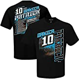 NASCAR 2017 Drivers Schedule Racing T-Shirt-Danica Patrick #10-Black-Large