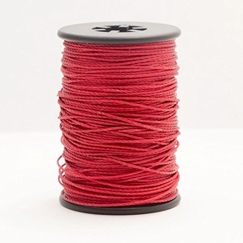 Red BCY Nock Point & Peep Tying Thread Jig Spool Bow String Material