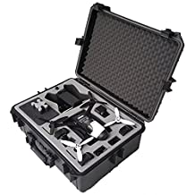 Professional carry case fits for Parrot Bebop 2 with Sky Controller 2 and googles made by MC-CASES - Excellent Cases - THE ORIGINAL (Parrot Bebop 2 FPV)