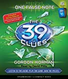 One False Note (The 39 Clues, Book 2) - Audio