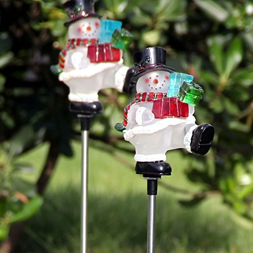 Snowman Led Path Lights in US - 7