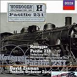 zinman great symphonies - Honegger: Rugby / Symphony No. 2 / Mouvement symphonique No. 3 / Monopartita / Pastorale d'été /  Pacific 231