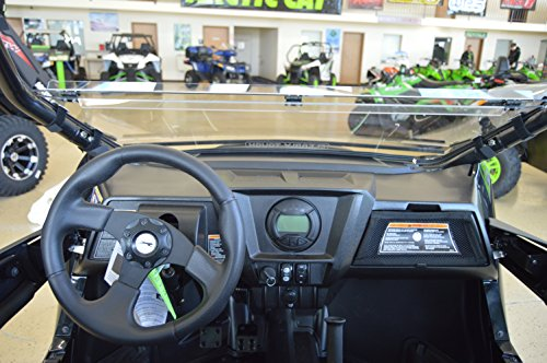 Arctic Cat Wildcat TRAIL / Sport - Full Folding Scratch Resistant UTV Windshield. The Ultimate in Side By Side Versatility!Premium Polycarbonate w/ Hard CoatMade in America!! by Clearly Tough (Image #8)