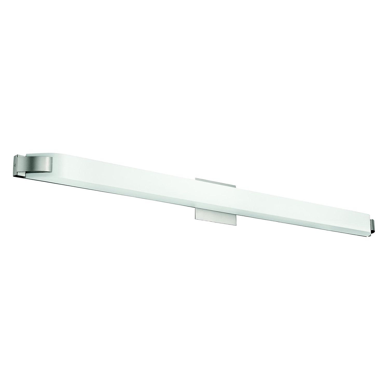 Kichler 10416ni one light linear bath vanity lighting fixtures kichler 10416ni one light linear bath vanity lighting fixtures amazon aloadofball Choice Image