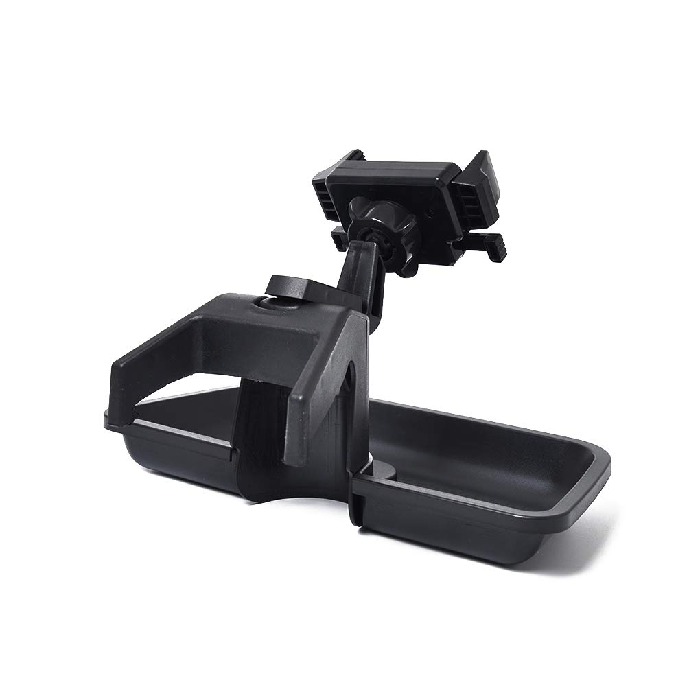 OmkuwlQ in-Dash Mobile Phone Holder Bracket Multi-Mount Replacement for 2011-2018 Jeep Wrangler JK Models