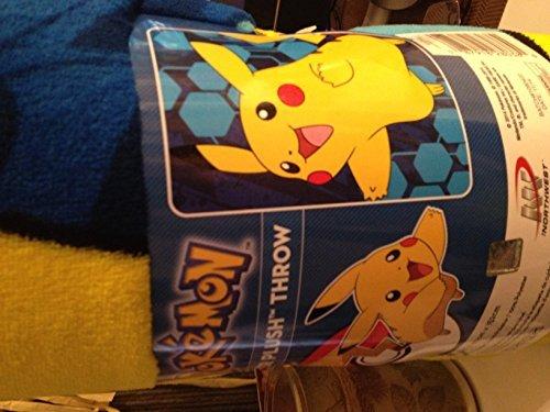 Pokemon Super Plush Throw by Pokemon