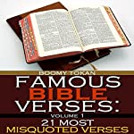 Famous Bible Verses: 21 Most Misquoted Verses, Book 1 | Boomy Tokan