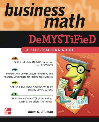 Business Math Demystified
