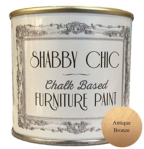 Antique Bronze Chalk Based Furniture Paint great for creating a shabby chic style. 250ml by Shabby Chic Furniture Paint ()