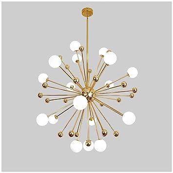 Sputnik Luminaire Ylijket Lustre Moderne Suspension 3ARq4L5j