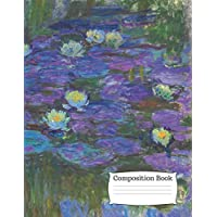 Composition Book: Large (8.5 x 11 inches) - 120 ruled Pages – 60 Sheets - Claude...