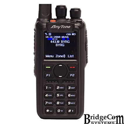 AnyTone AT-D868UV W/GPS + Free Course, Programming Cable, Support, 3100mAh  Battery, Latest Firmware, Dual Band DMR/Analog