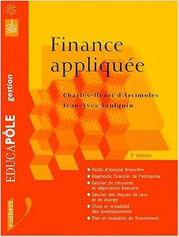 Livres gratuits en ligne La finance appliquée pdf, epub