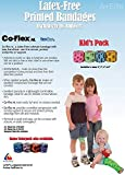ANDOVER CO-FLEX NL 2x5Yds Tan Flesh 3-PACK Cohesive Flexible Elastic Latex Free Bandage Compression Self Adherent Wrap Adults Children Animals Pets Cats Dogs Horses 5200TN by Coflex