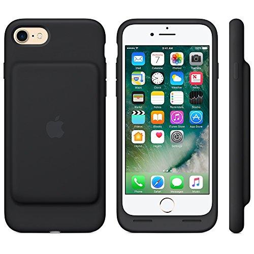 Apple MN002ZM/A Coque batterie pour iPhone 7 Noir