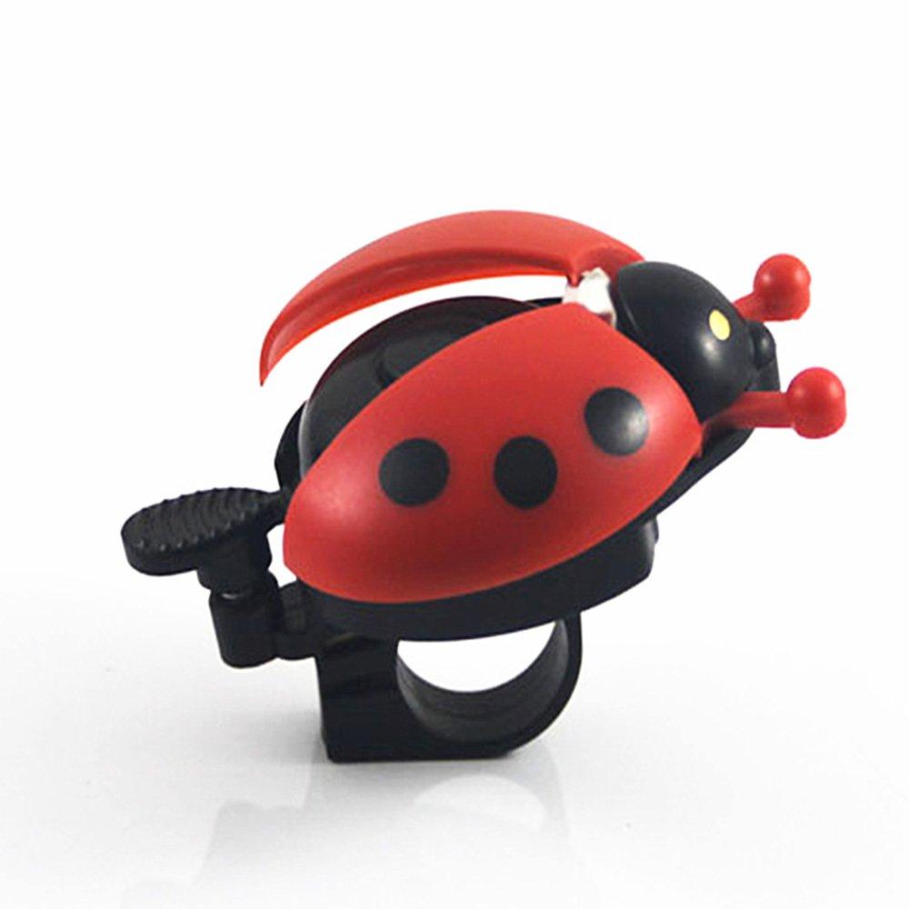 SPHTOEO Funny Ladybug Cycling Ride Bike Ring Bell