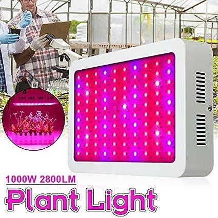 Amazon.com: jeteven 1000 W LED Plant Growing luces lámpara ...
