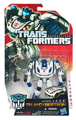Transformers Generations Fall Of Cybertron Action Figure - Autobot Jazz