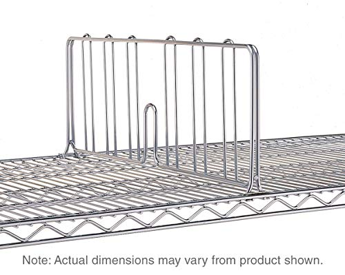 Metro DD24C Super Erecta Chrome Plated Shelf Divider, 24