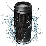 TREBLAB HD7 - Premium Bluetooth Speaker - Loudest 360°HD Sound, 12W Powerful Bass, Best for Outdoor Sports, Waterproof, Microphone, Small Portable Wireless Speakers for Tablet, Phone. 25 Hrs Battery