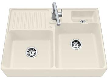 Villeroy & Boch lavabili in pietra doppio bacino lavello in ceramica ...