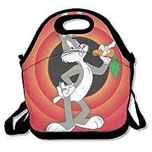 NaDeShop Bugs Bunny Looney Tunes Lunch Bag Tote