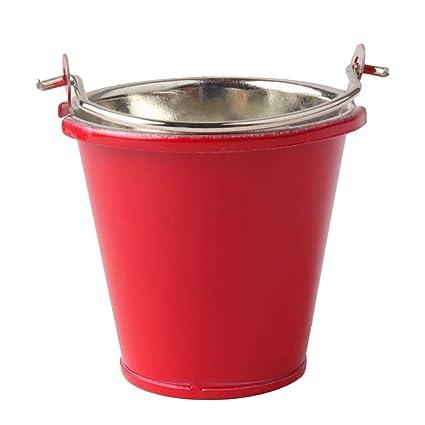 Amazon.com: Binory - Mini cubo de metal rojo para 1/10 RC ...