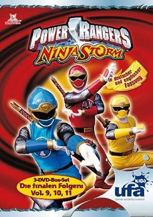 Power Rangers - Ninja Storm, Die letzten Folgen, Volume 09 ...