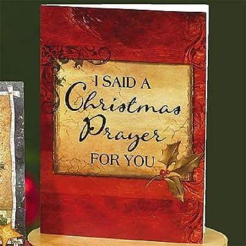 Abbey press i said a christmas prayer cards greetings paper gift abbey press quoti said a christmas prayerquot cards greetings paper gift wrap m4hsunfo