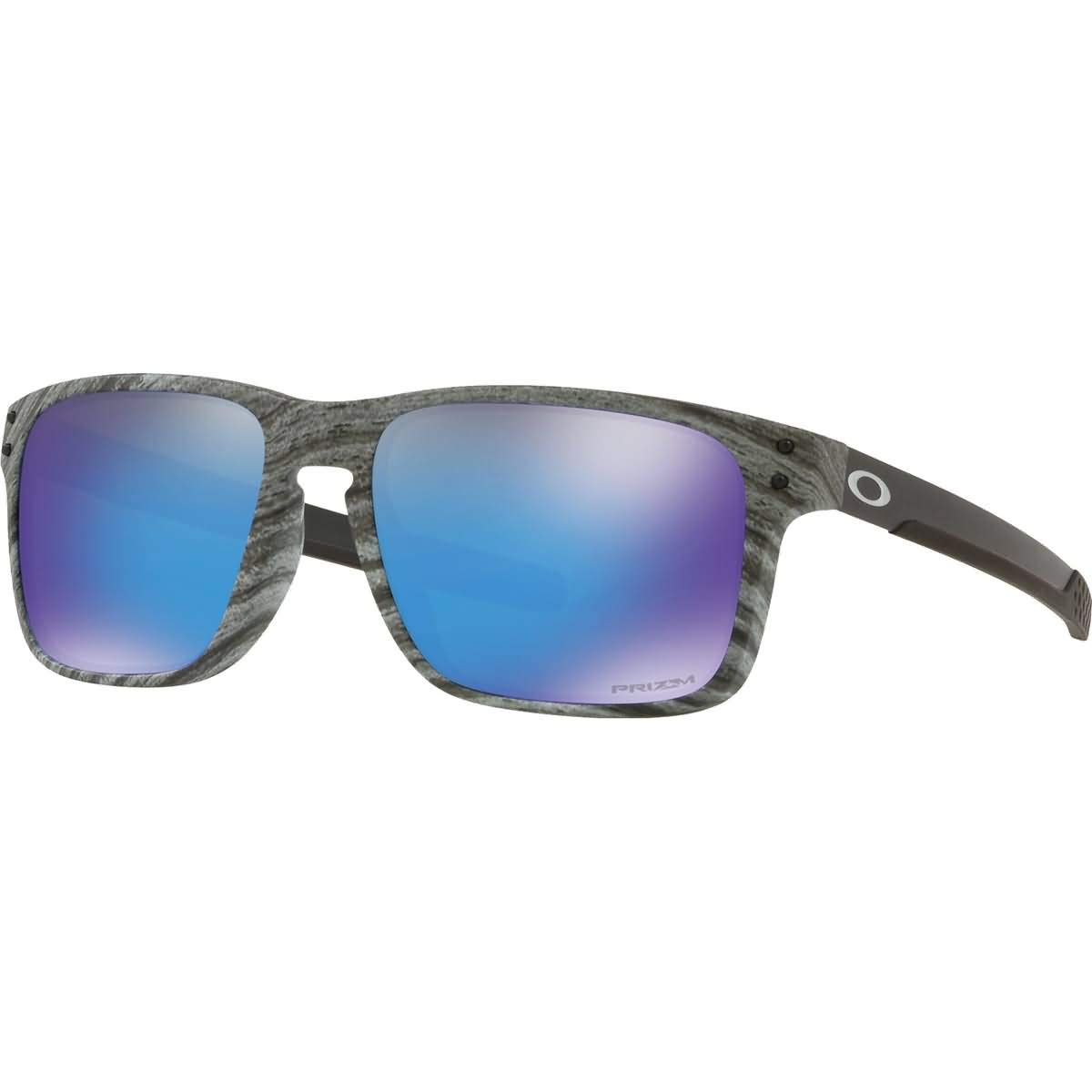 Oakley Men's OO9384 Holbrook Mix Rectangular Sunglasses, Frostwood/Prizm Sapphire, 57 mm by Oakley