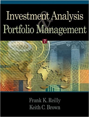 Investment Analysis And Portfolio Management Th Seventh Edition