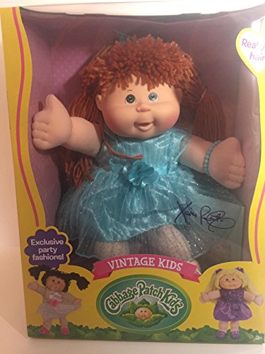 Vintage Cabbage Patch Kids with real yarn - Cabbage Vintage Dolls Patch