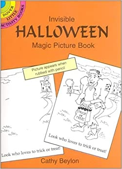 Invisible Halloween Magic Picture B (Dover Little Activity Books)
