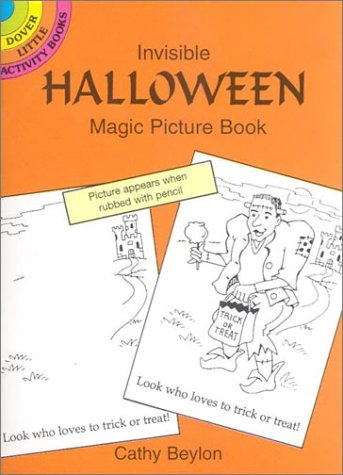 Invisible Halloween Magic Picture Book (Dover Little Activity Books) -